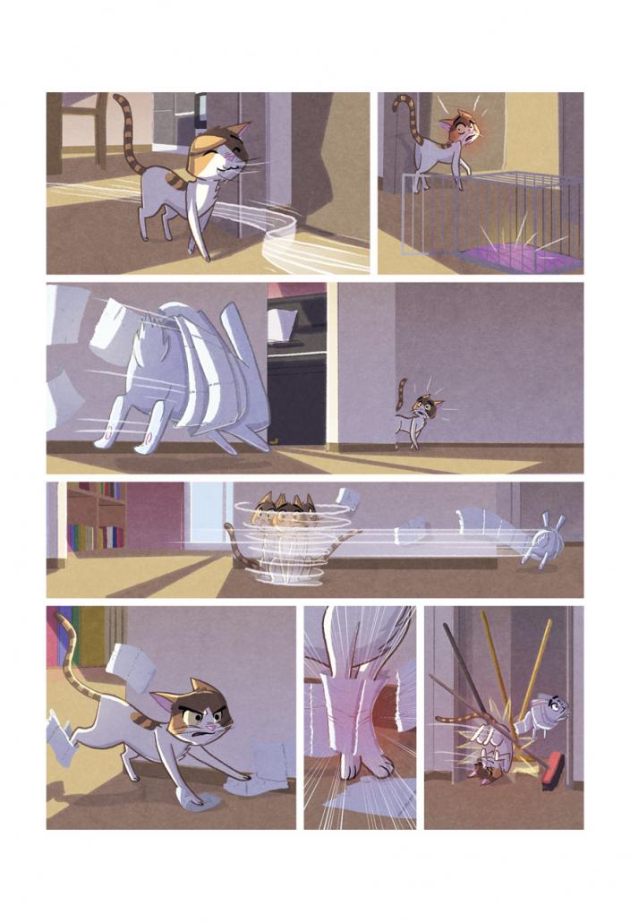 """Interior page of """"Brina- Ogni amico è un'avventura"""" book by Christian Cornia"""