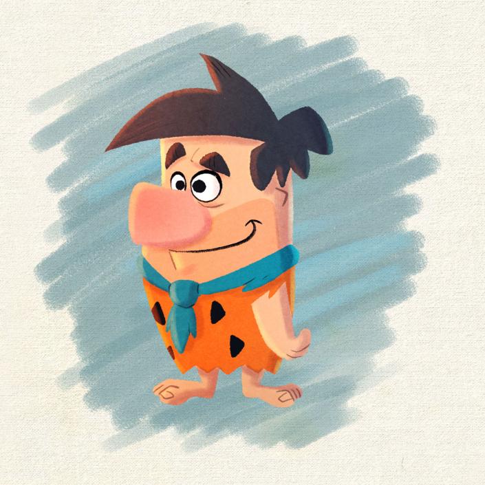 Fred Flintstones by Christian Cornia