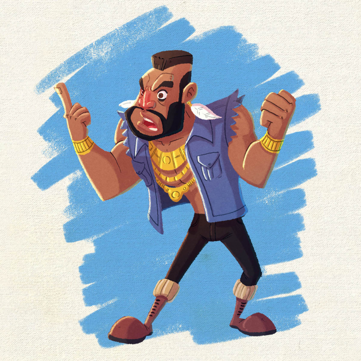 Mr.T by Christian Cornia