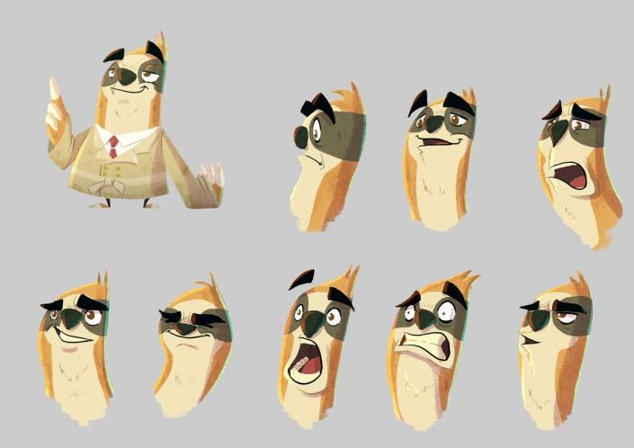Detective Sloth by Christian Cornia