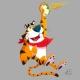 Tony Tiger Color by Christian Cornia